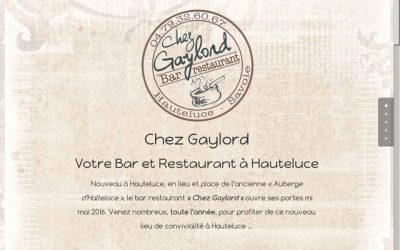 Quelques exemples de sites pour restaurants