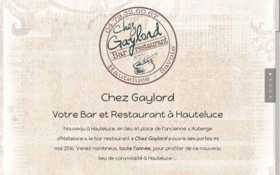 Quelques exemples de sites pour restaurants