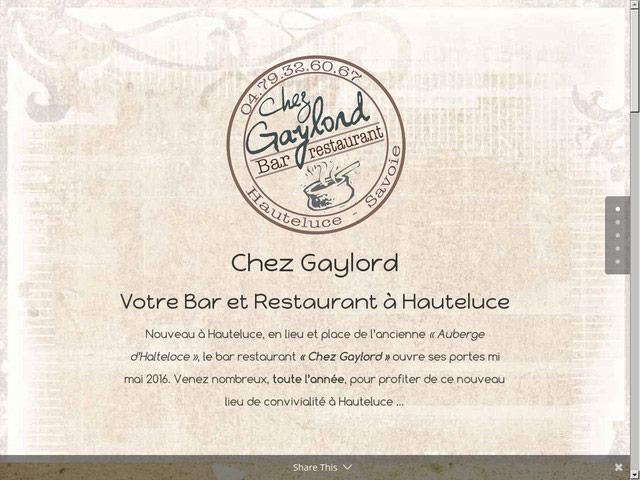 Création site Landing Page pour un restaurant