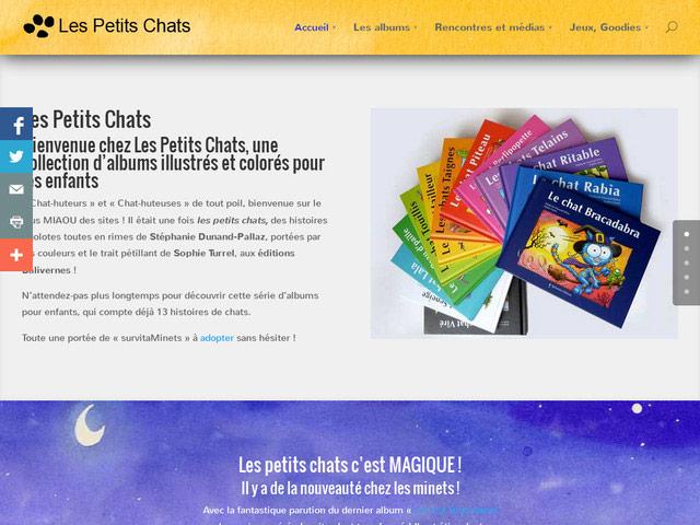 Création d'un site adaptatif pour une collection de livres pour enfants
