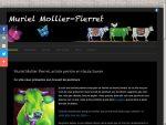 Site web de l'artiste peintre Muriel Mollier Pierret