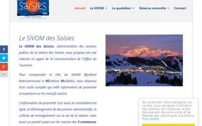 Site du Sivom des Saisies