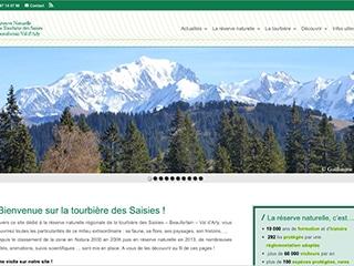 Site web de la Réserve Naturelle Régionale, Tourbière des Saisies - Beaufortain - Val d'Arly