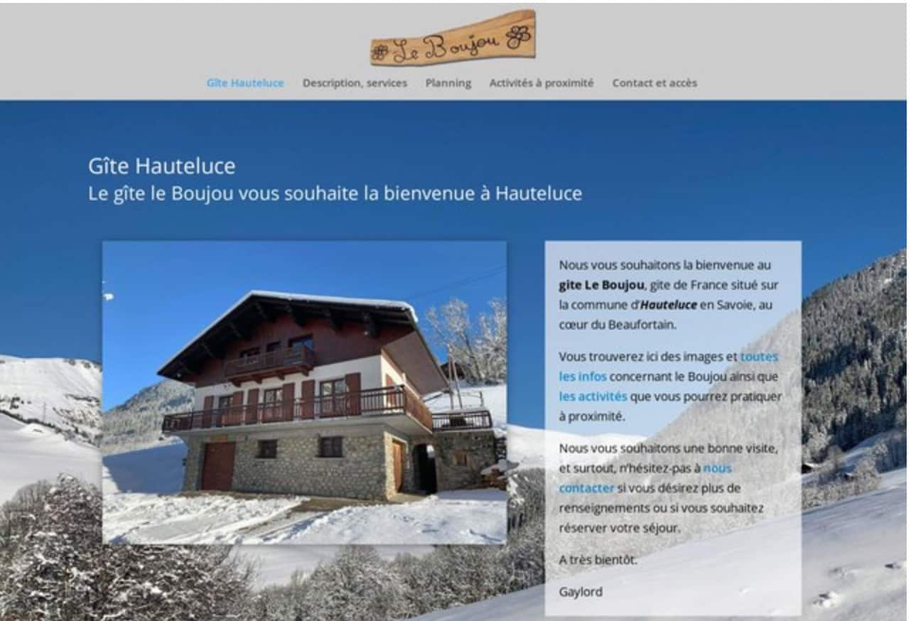 Gîte de France à Hauteluce
