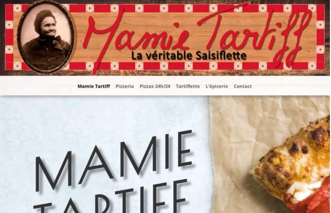 Tartiflette et Pizzeria les Saisies Mamie Tartiff