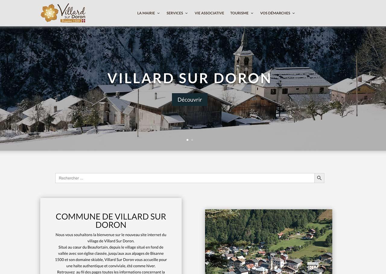 Site officiel de la Mairie de Villard sur Doron